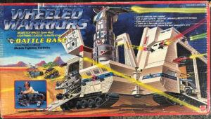 Wheeled Warriors Mattel Battle Base