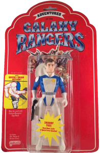 Adventures of the Galaxy rangers Action Figure New