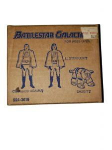 Battlestar Galactica Mattel Boxed Action Figures