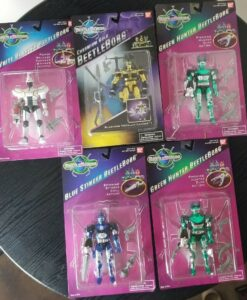 Beetleborgs Bandai Action Figures