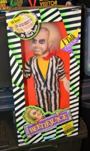 Beetlejuice Talking Doll-18 inch 1989 Action Figure