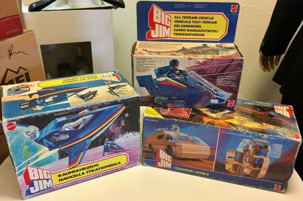 Big Jim Adventure Sets Vintage Mattel Action Figures