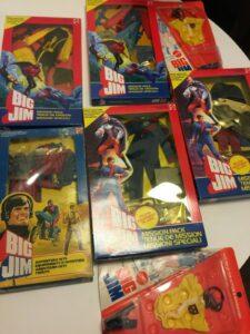 Big Jim Adventure Sets Vintage Mattel Action Figures