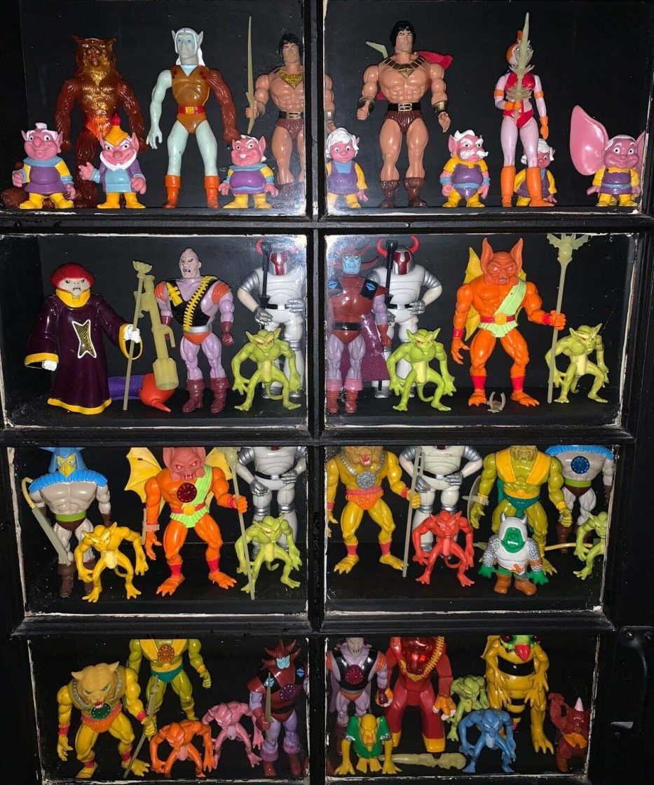 Blackstar Galoob Action Figure Collection
