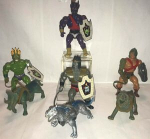 Defenders of the Planets Sparkle Toys Action Figures