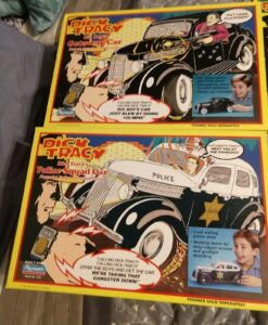 Dick-Tracy-Playmates Action Figure Vehicles