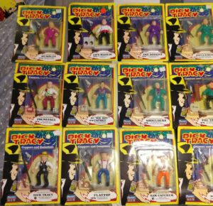 Dick-Tracy-Playmates Action Figures MOSC