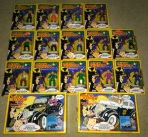 Dick-Tracy-Playmates Action Figures Sealed