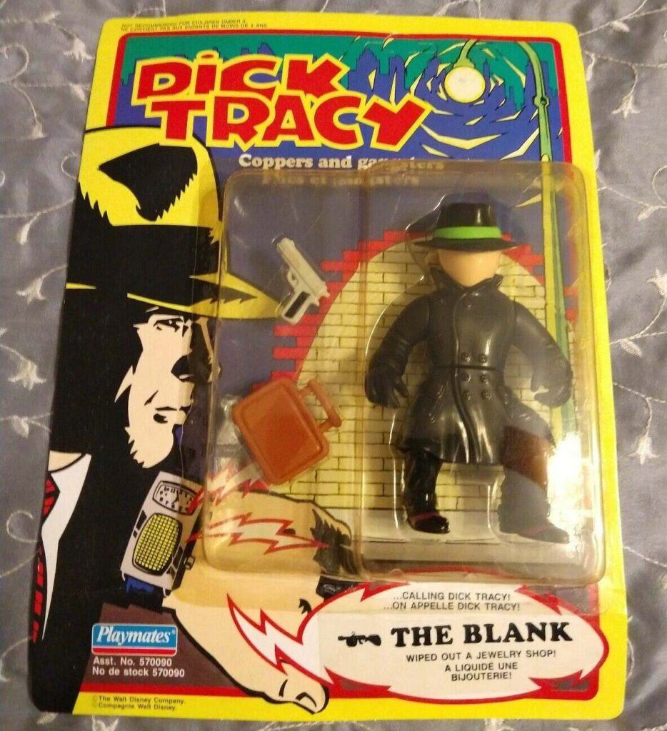 Are you ready to find out who buys a vintage toy like the Playmates Dick Tracy Blank Action Figure