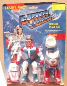 Pace Toys Earth Force Action Figures