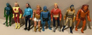 Flash Gordon Mattel Action Figures
