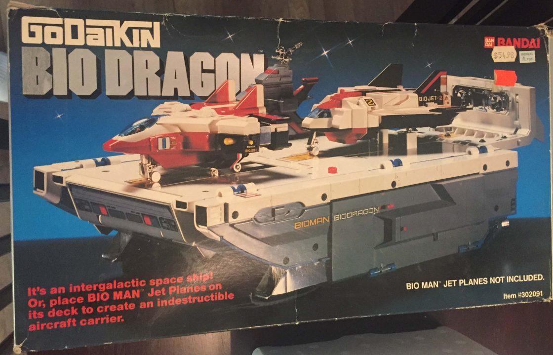 Godaikin Dragon Bandai Action Figure