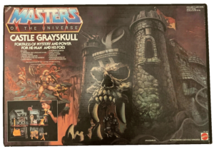 He-Man Masters of the Universe Castle Greyskull