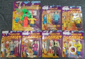 Inspector Gadget DIC Tiger Toys Action Figures