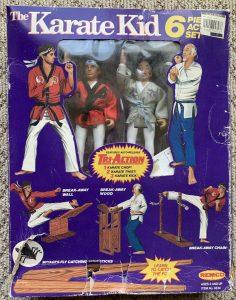Karate Kid Remco Action Figures