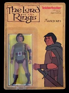 Lord of the Rings Knickerbocker Action Figures