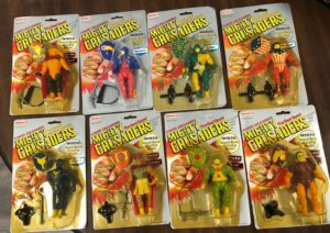 Mighty Crusaders Remco Action Figures