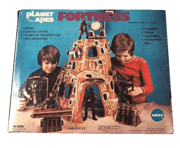 Are you ready to sell your vintage Planet of the Apes toys like the Mego Fortress?
