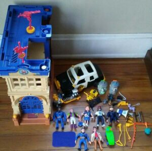 Police Academy Kenner Action Figures