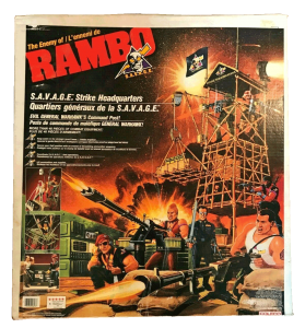 Rambo Remco Action Figure Playset
