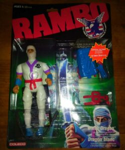 Rambo Remco Action Figure