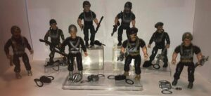 Sarge Team & The bad Guys Remco Action Figures