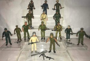 Remco Sgt Rock Action Figures