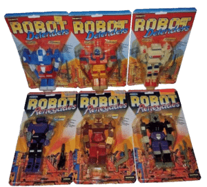 Robot Defenders and Robot Renegades Remco Action Figures