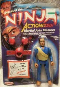 Secret of the Ninja Remco Action Figures