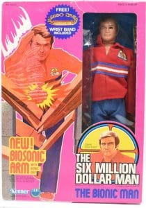 Six Million Dollar Man Kenner Action Figures