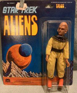 Star Trek Mego Action Figures