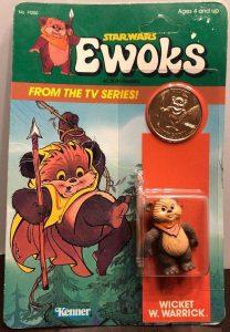 Star Wars Ewoks Kenner Action Figures