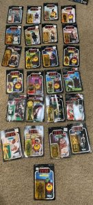 Star Wars Kenner Vintage Action Figures