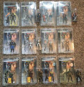 Terminator 2 Action Figures Toys 1994