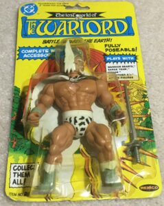 Lost World of the Warlord Remco Action Figures New