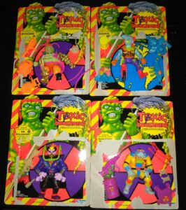 Toxic Crusaders Playmates Toys Action Figures