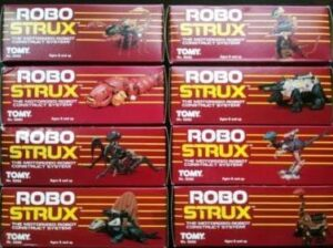 Zoids Tomy Robo Strux Action Figures