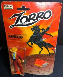 Zorro Gabriel Action Figures