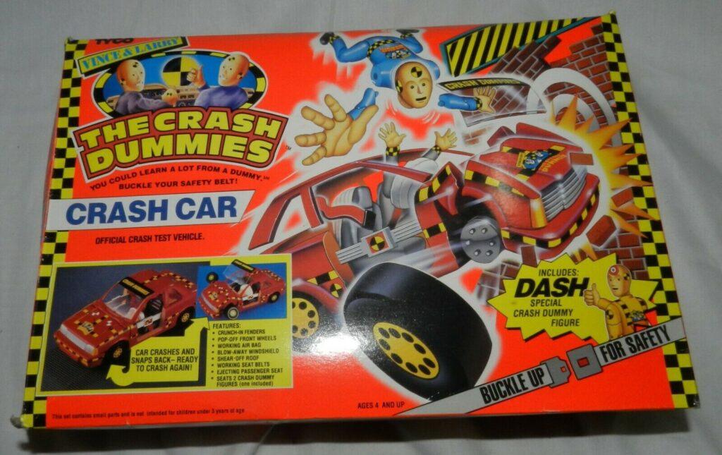 Tyco Toys' Vince & Larry Crash Dummies