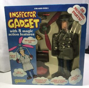 Inspector Gadget DIC Tiger Toys Action Figure