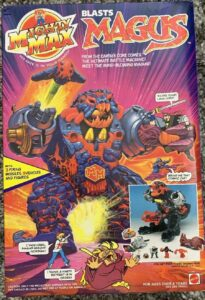 Mighty Max Bluebird Action Figures Sealed