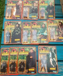 Robin Hood Prince of Thieves Action Figures Kenner