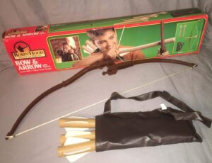 Robin-Hood-Prince of Thieves Bow and Arrow Kenner