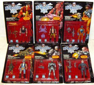 Robocop Kenner 1988 Action Figures