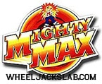 Mighty Max Bluebird Action Figure Logo