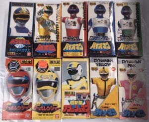 Power Rangers Chogokin bandai Action Figures