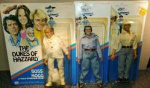 Dukes Of Hazzard Action Figures Boxed