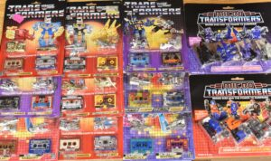 Vintage G1 Transformers on Card MOSC