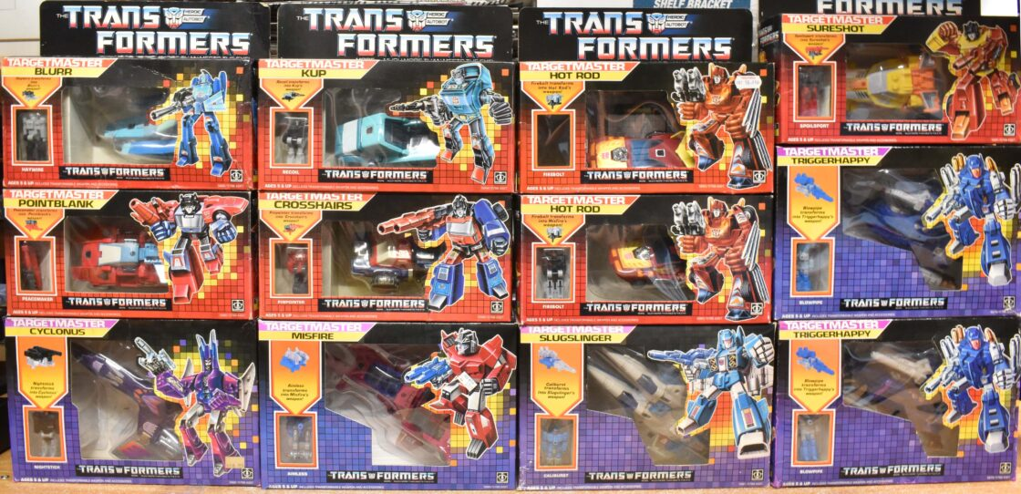 Vintage Transformers Toy Collection