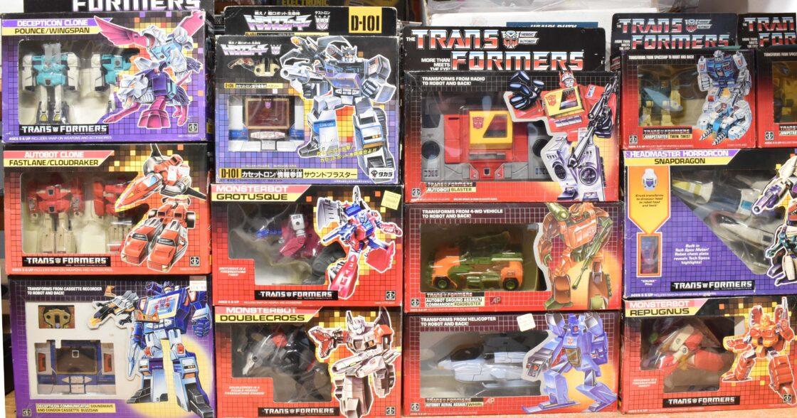 Vintage Hasbro Transformers Toys
